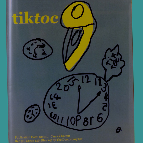Work entitled tiktoc publication